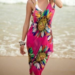 Other - Chiffon Floral Coverup